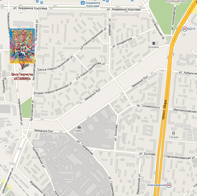 Adress-map